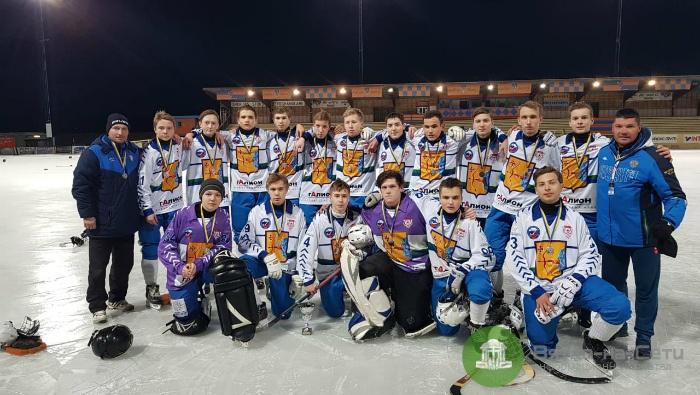 Юниорская «Родина» завоевала серебро Кубка мира по хоккею с мячом