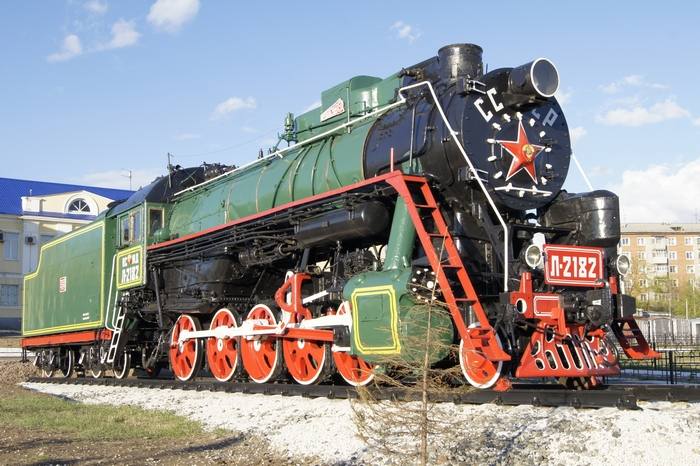 В Вятских Полянах установят памятник паровозу