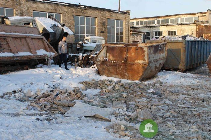 В Вересниках обнаружили нелегальную мусороперегрузочную станцию