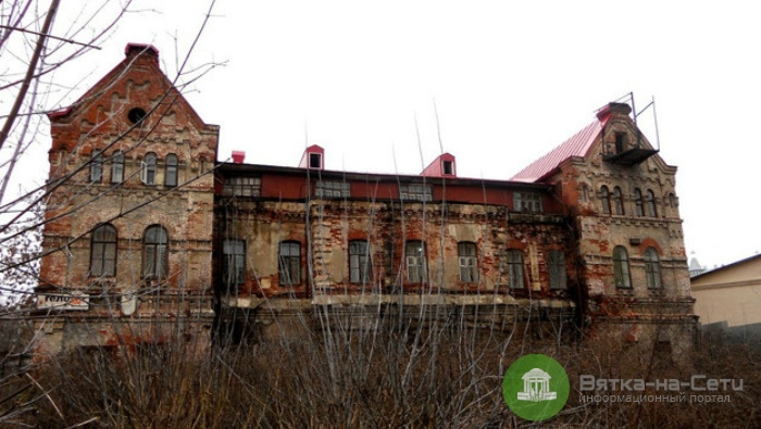 Старейший каменный дом в Кирове выставлен на продажу за 9,6 млн рублей