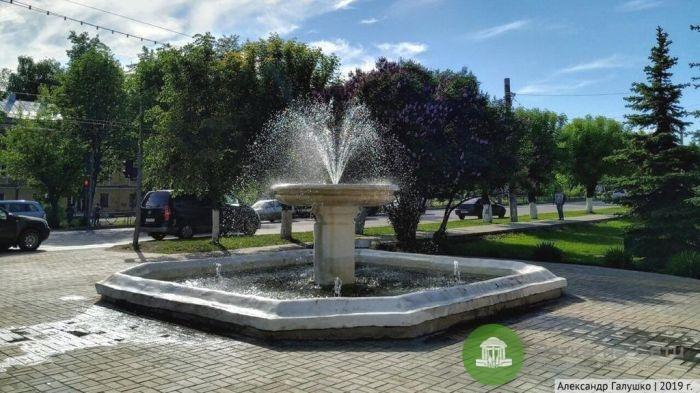 Возле ОЦМ появится новый фонтан