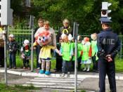 В Кировской школе открылась площадка по безопасности дорожного движения