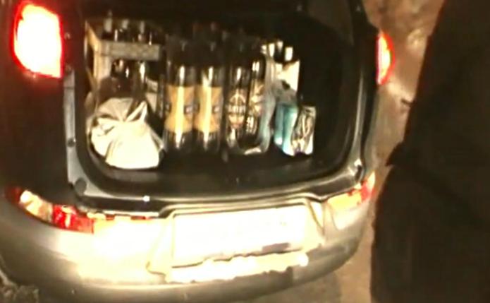 Полицейские совершили контрольную закупку алкоголя