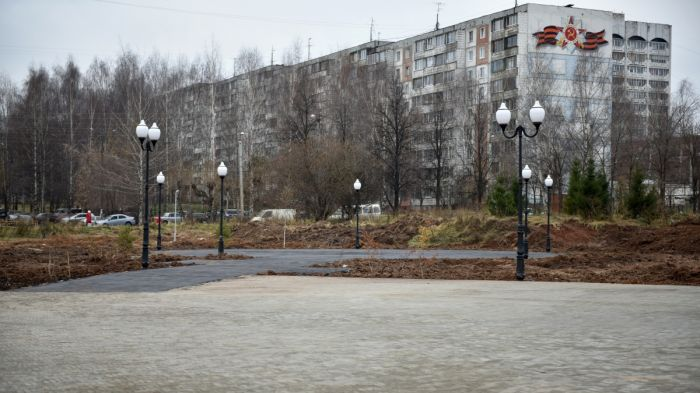 Кочуровский парк пополнится вазонами искамейками заполмиллиона руб.