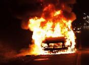 В Подосиновском районе в огне сгорело 10 автомобилей