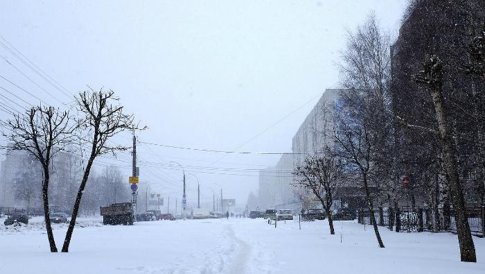 Экстренные службы области приведены в повышенную готовность из-за снегопада