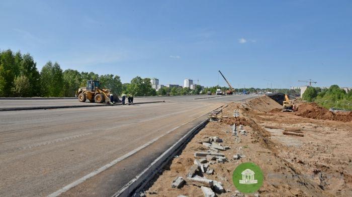 Строительство путепровода в Чистые пруды завершено