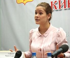 Мария Гайдар призывает россиян лечиться в Кирове