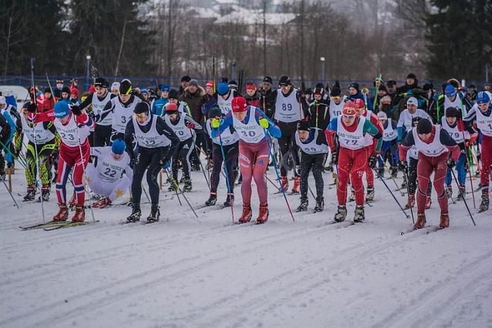 «Новогодняя лыжная гонка» собрала рекордное количество участников