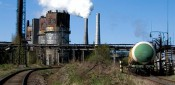 Сильный пожар произошёл на кировском Биохимзаводе