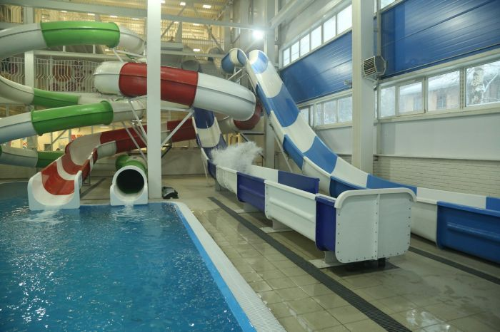 Вкировском новом аквапарке девушка сломала ногу
