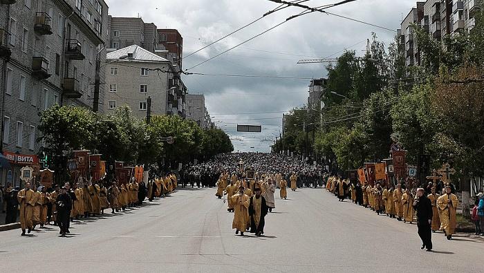 В Кировской области начался Великорецкий крестный ход