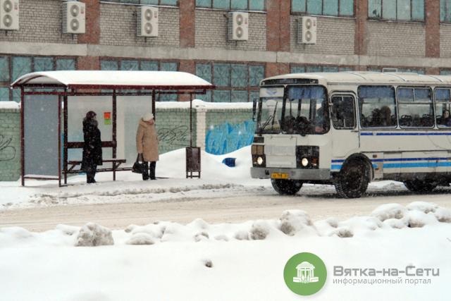 Забастовка водителей общественного транспорта в Вятских Полянах