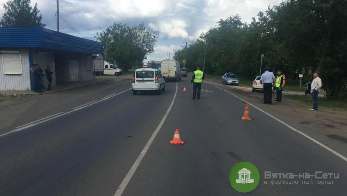 В Слободском районе 9-летняя девочка госпитализирована после ДТП