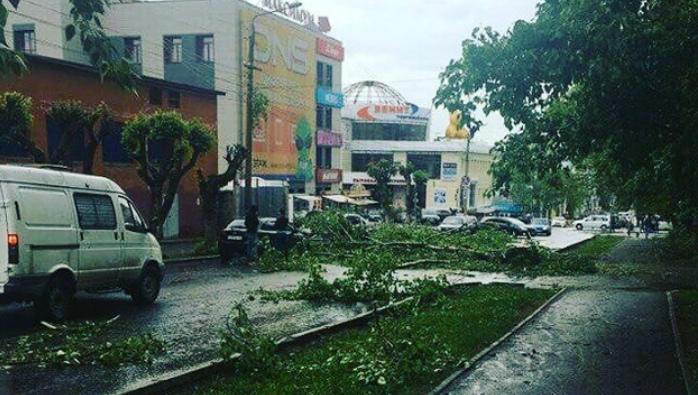 Ураган в Кирове 27.05.2018