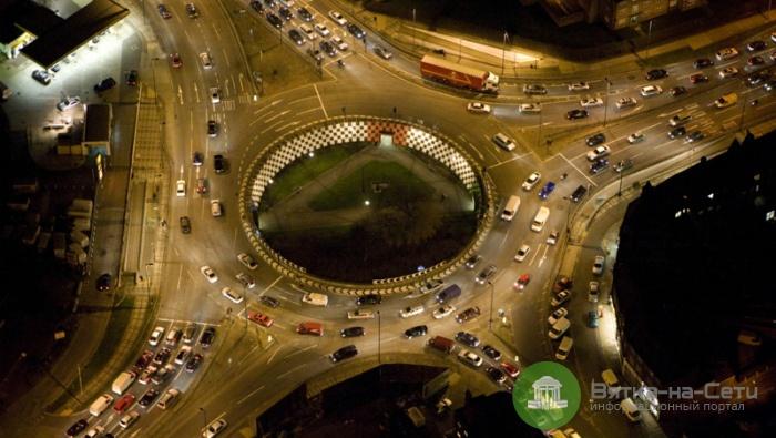В Кирове появятся три новых кольцевых развязки