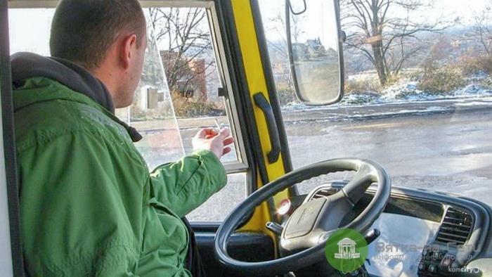 В Кирове за курение в автобусах наказаны 97 водителей