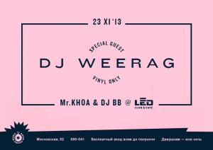 DJ WEERAG
