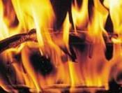 В Тужинском районе в огне погибли двое детей