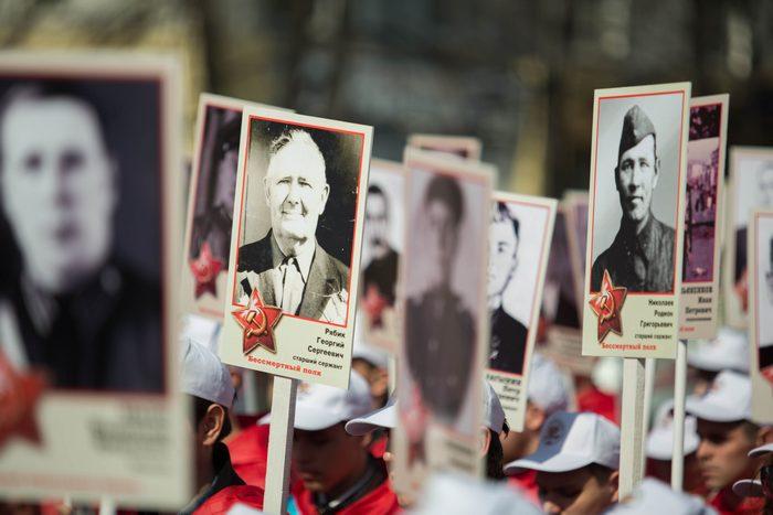 4 тысячи кировчан подали заявки на участие в шествии Бессмертного полка
