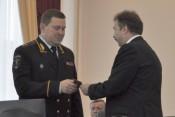 Сергея Солодовникова представили руководящему составу УМВД