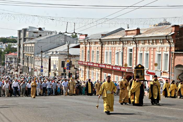 Ограничение движения в Кирове в связи с началом Великорецкого крестного хода