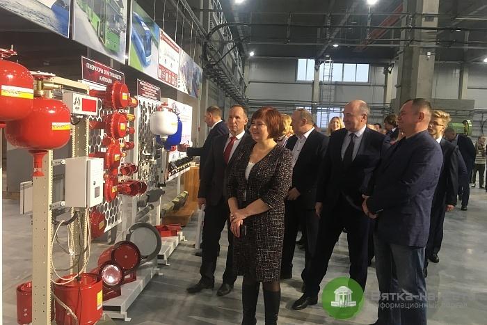 В Кирово-Чепецком районе открыли завод по производству средств пожаротушения