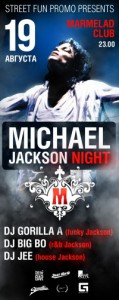 MICHAEL (JACKSON NIGHT)