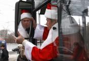 В новогоднюю ночь будет ходить транспорт