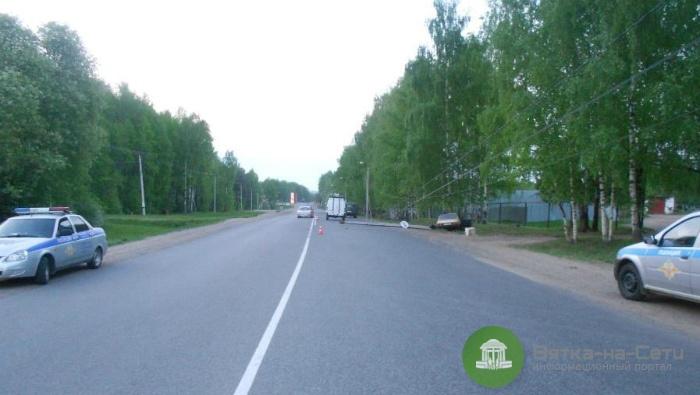 В Нововятске ВАЗ влетел в столб, водитель погиб