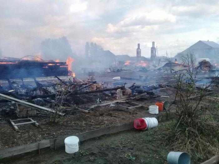 Погорельцам в Орлове окажут материальную помощь