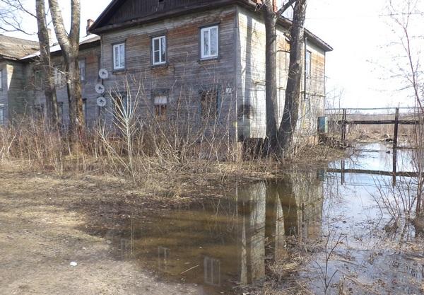 За сутки вода в Вятке прибыла на 11 см