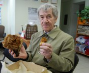 Кировчанин нашёл гигантский гриб