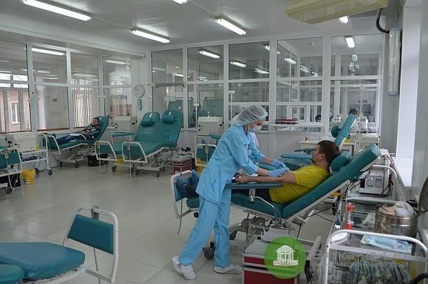 В Кировской области за восемь месяцев 7080 человек сдали кровь
