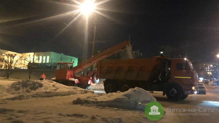 В Кирове закончились деньги на вывоз снега
