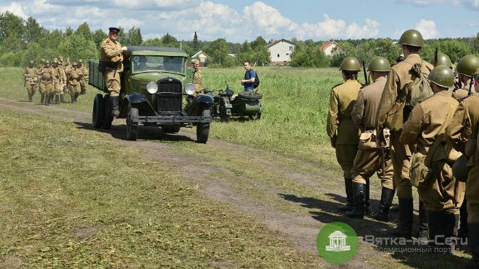 В Кирове прошел фестиваль исторической реконструкции