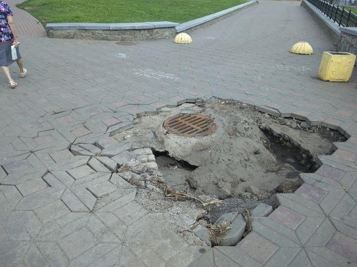 Ущерб, нанесенный ураганом улично-дорожной сети Кирова, составил около 6 млн рублей
