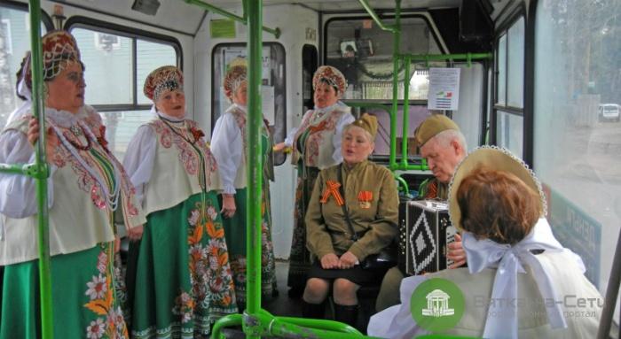 По кировским улицам проедут «поющие» автобусы и троллейбус
