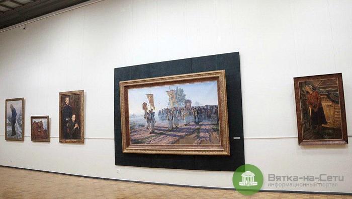 В Кирове открылась выставка заслуженного художника РФ Владимира Муллина