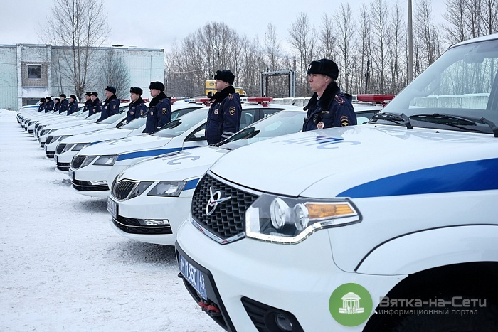 Кировская ГИБДД получила новые машины