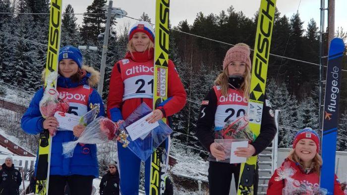 Кировчанка выиграла европейские соревнования по прыжкам на лыжах с трамплина