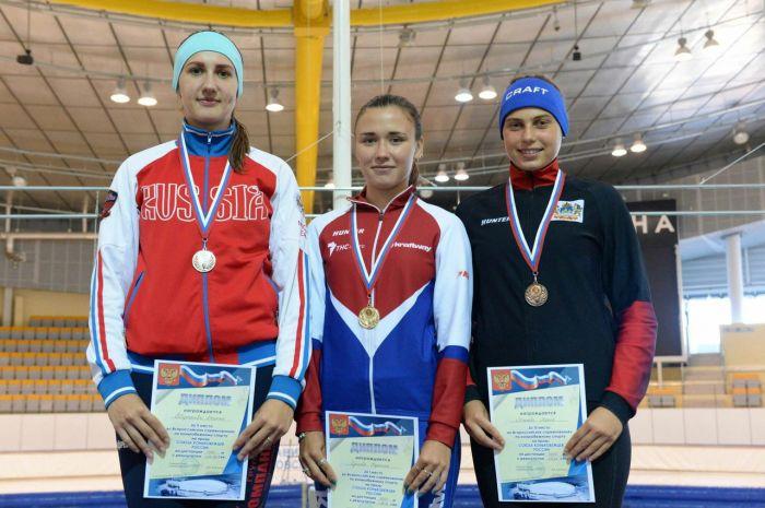 Кировчанка выиграла всероссийские соревнования по конькобежному спорту