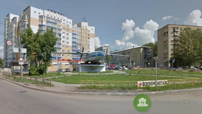 На Филейке частично демонтируют самолет «АН-8»