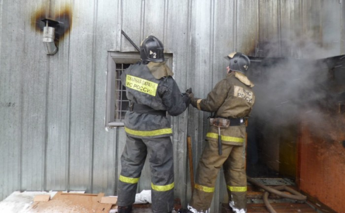 В Кирове на Центральном рынке произошел пожар