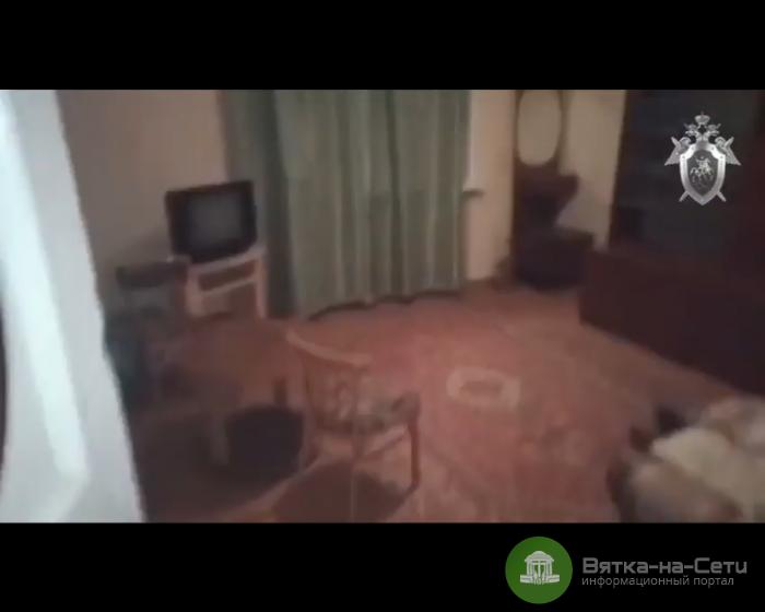 Появилось видео из квартиры, где убили 2-летнего мальчика (Видео)