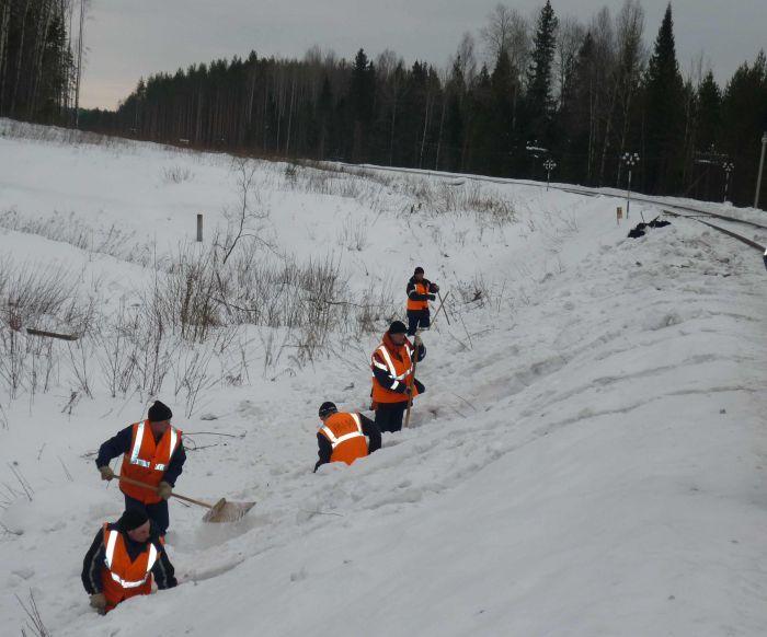 В Кировском регионе ГЖД начата подготовка к пропуску паводковых вод