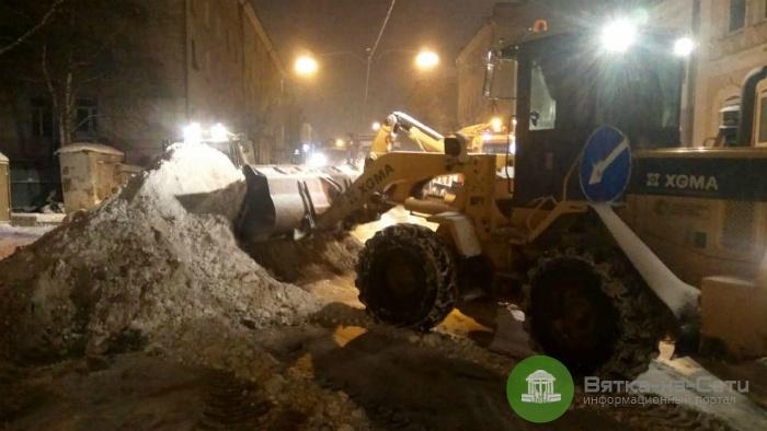 Подрядчики в 3 раза увеличили число техники на улицах Кирова