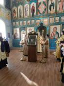 Икону Святителя Николая перенесли в Успенский собор