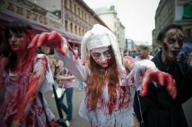 Парад зомби в Кирове