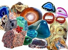 Минералы и горные породы